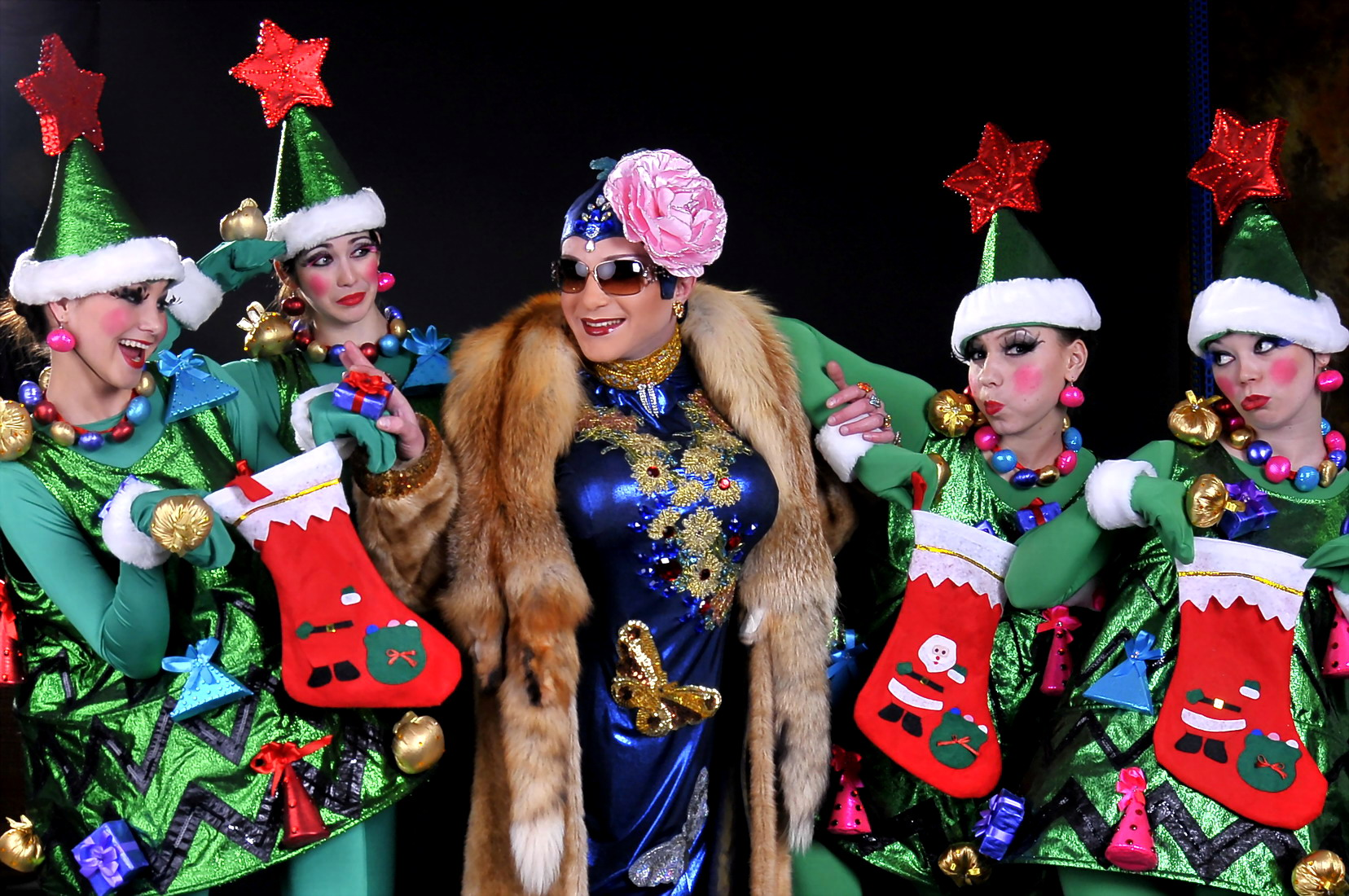 Though I am sure if we have faith, Verka Serduchka will save Christmas this year.